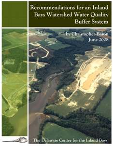 Recommendations for an Inland Bays Watershed Water Quality Buffer System