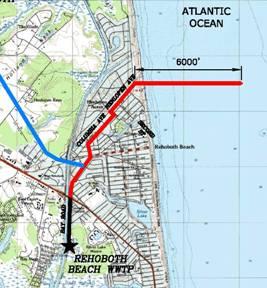 Rehoboth Beach Effluent Disposal Study: Evaluation of Wastewater Discharge Alternatives