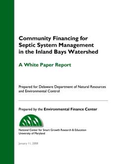 Community Financing for Septic System Management in the Inland Bays Watershed