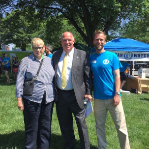 2nd Annual Clean Water Rally Draws Crowd  of Over 120 Citizen Advocates
