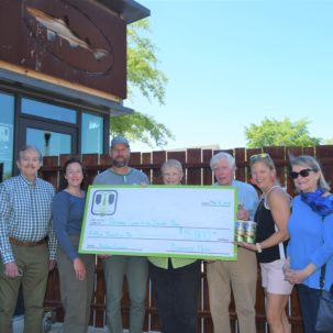 Dogfish Head Craft Brewery Donates $15,000 to improvements at the James Farm Ecological Preserve