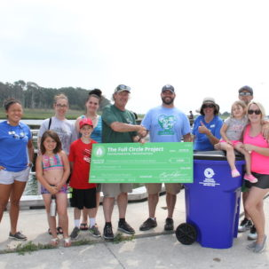One Ton of Plastic Pollution and Assorted Junk Removed from the Inland Bays!