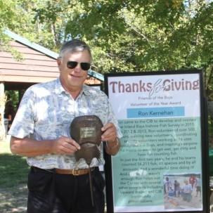 Inland Bays Fish Survey Team Gathers to Honor Ron Kernehan