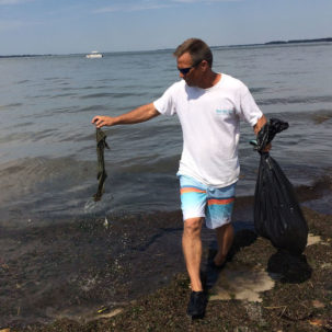 Volunteers Clean-Up Over ½ Ton of Trash from Delaware's Inland Bays