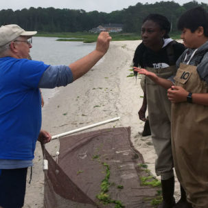 James Farm Middle School Program Gets Indian River School District Students Outdoors