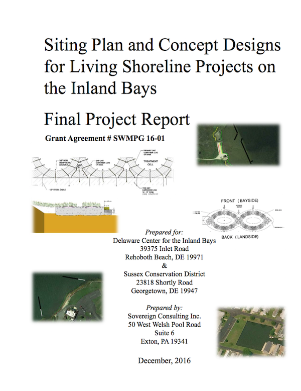 Living Shoreline Siting Project Report