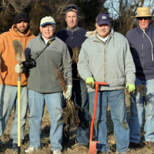 Center for the Inland Bays Begins Re-Forestation at Angola Neck with the Planting of 4,200 Native Trees