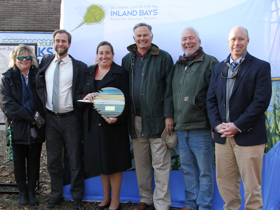 """Delaware Center for the Inland Bays  Honors Recipients with """"Friend of the Bays"""" Awards"""