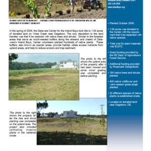 Thatcher's Landing Habitat Project